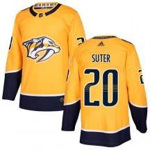 Nashville Predators Youth Ryan Suter Adidas Authentic Gold Home Jersey