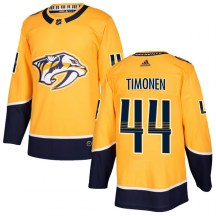 Nashville Predators Youth Kimmo Timonen Adidas Authentic Gold Home Jersey