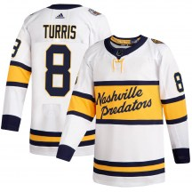 Nashville Predators Youth Kyle Turris Adidas Authentic White 2020 Winter Classic Jersey